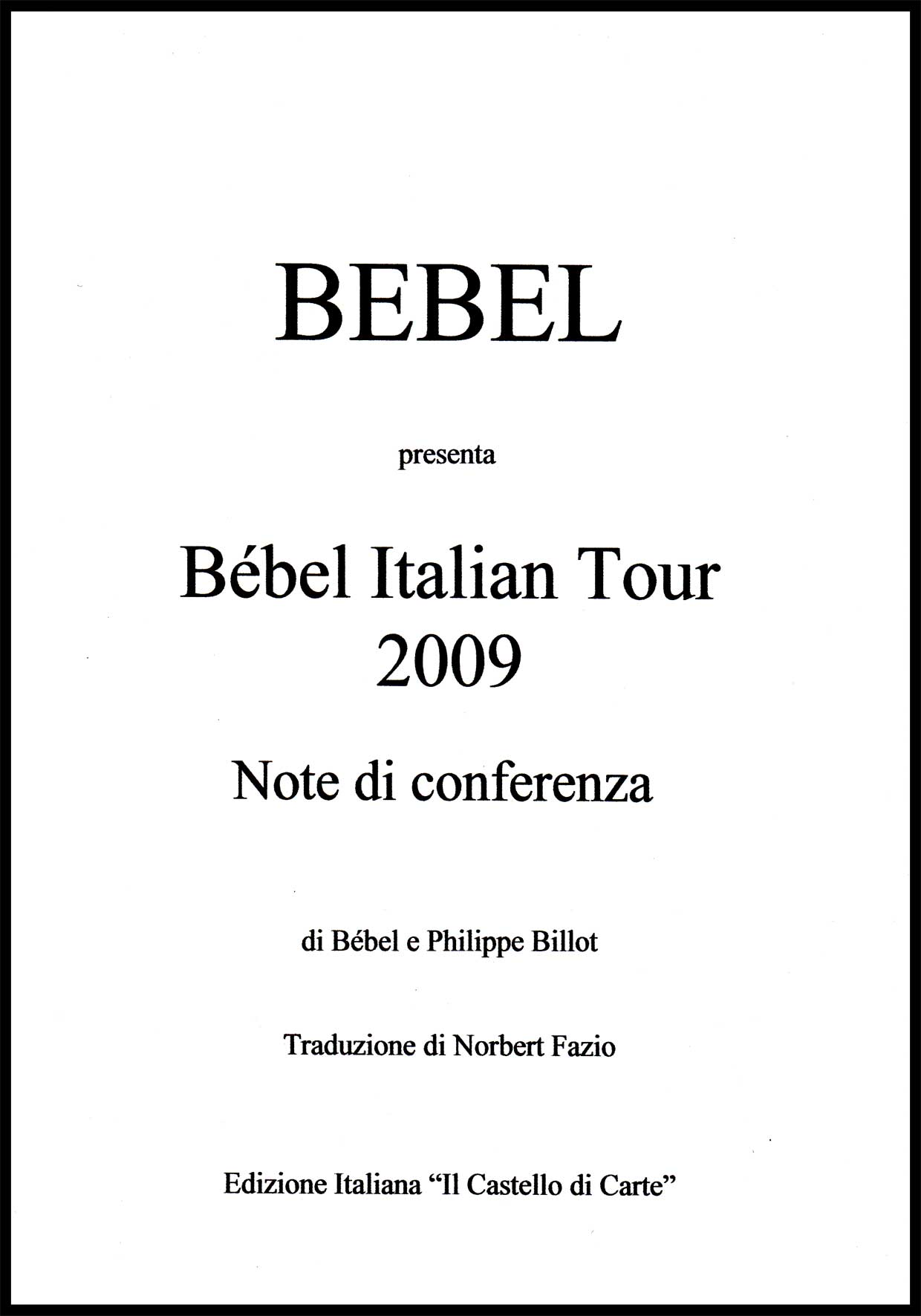 Bébel_Note