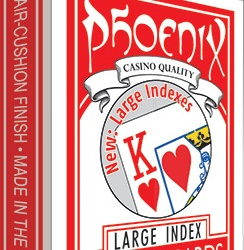 Phoenix Large Index Red